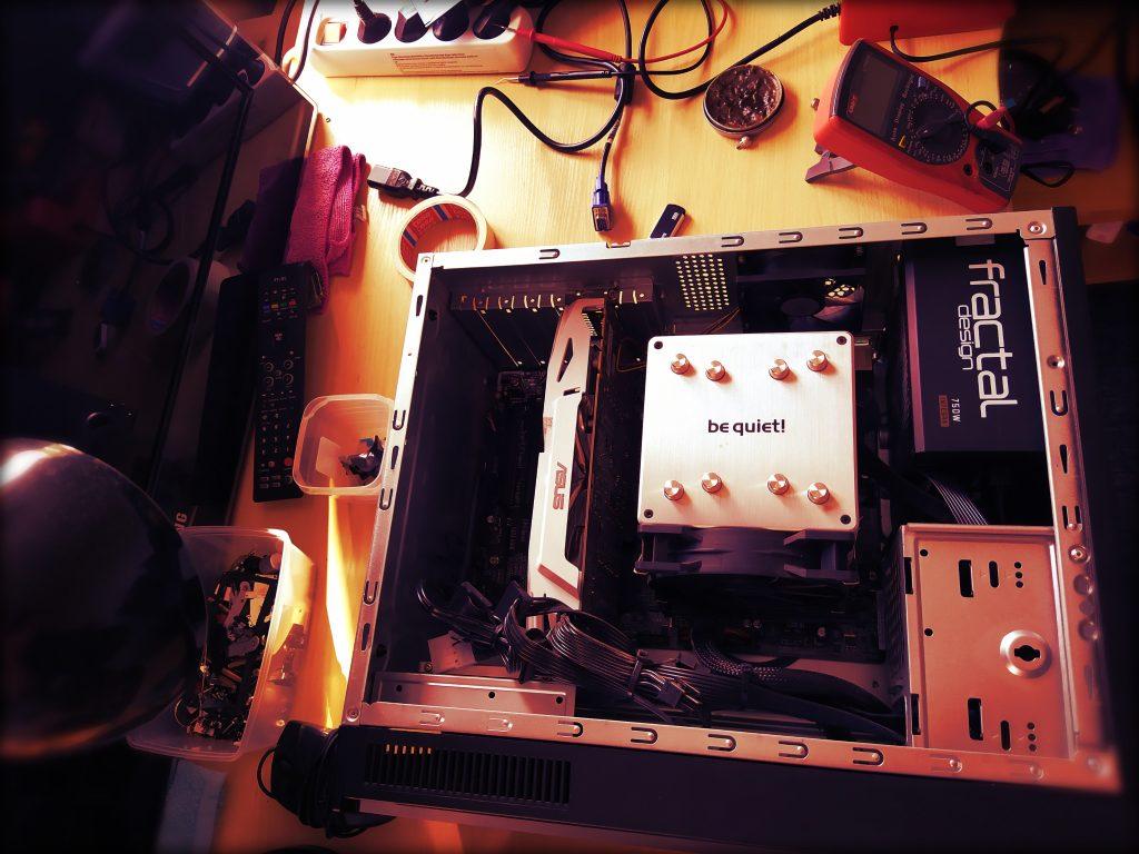 Stacionaraus kompiuterio remontas. Aušinimo sistemos profilaktika