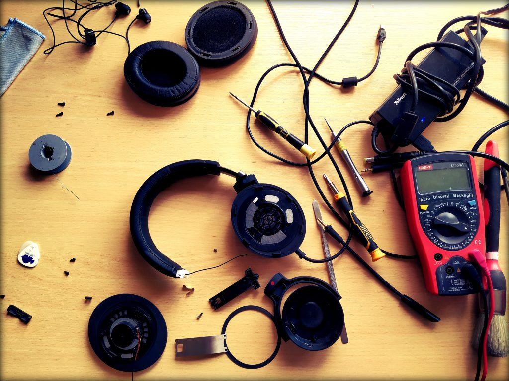 ausinių taisymas